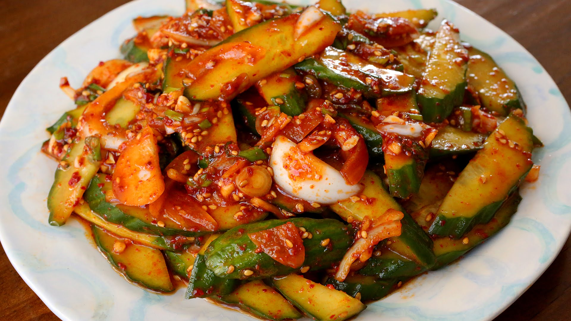 Super appetizer – Korean spicy cucumbers