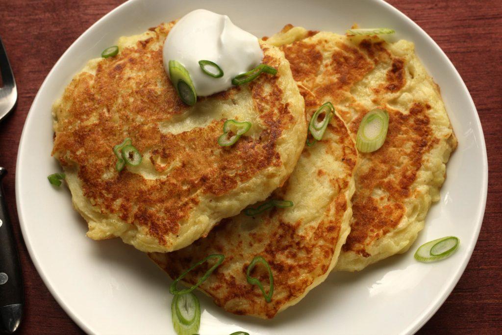 Amazing potato pancakes