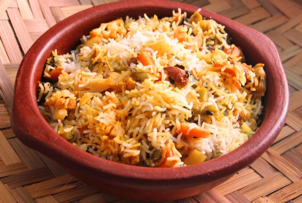 Aromatic and rich pilaf