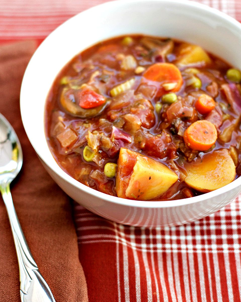 Vegetable stew with zucchini and potatoes 72