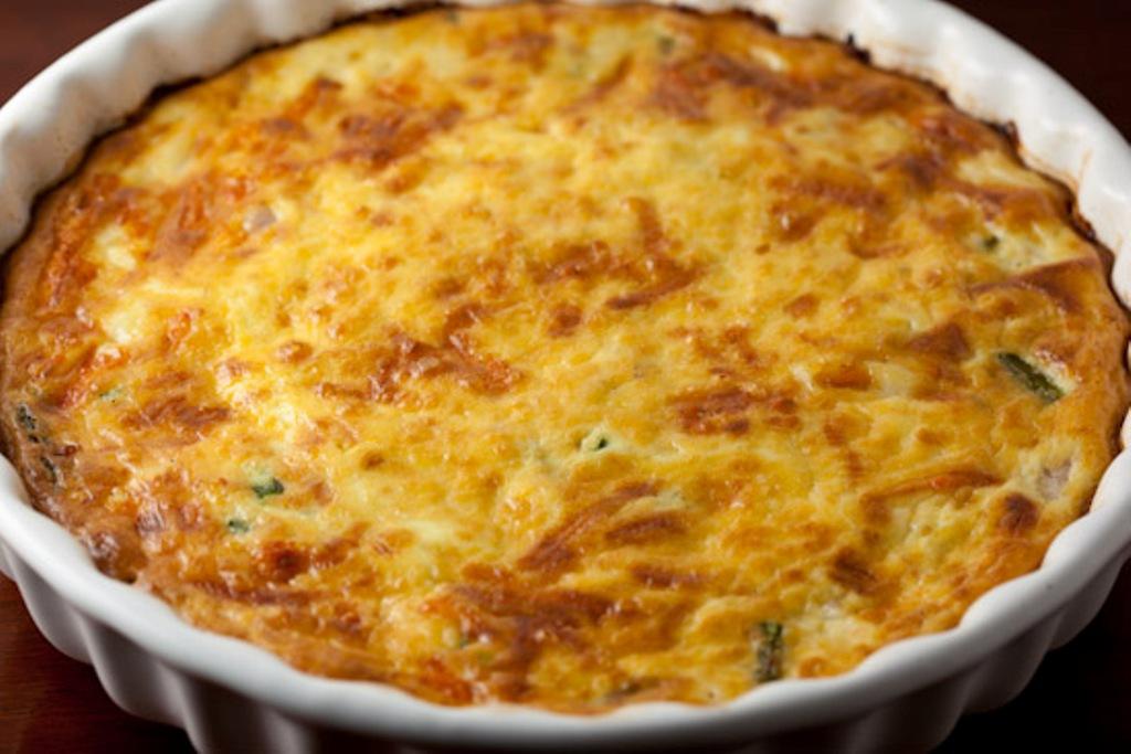 Ham, Cheese and Asparagus Quiche