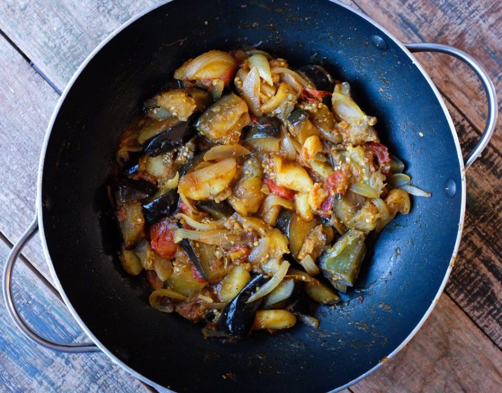 Tender soft eggplants (like mushrooms)