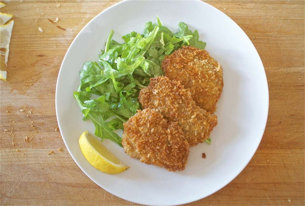 "The most delicate cutlets ""The Milk of Birds"""