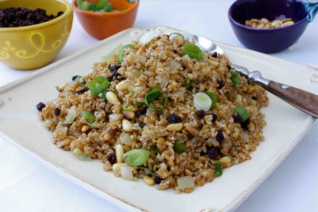 The most delicious Lakian pilaf