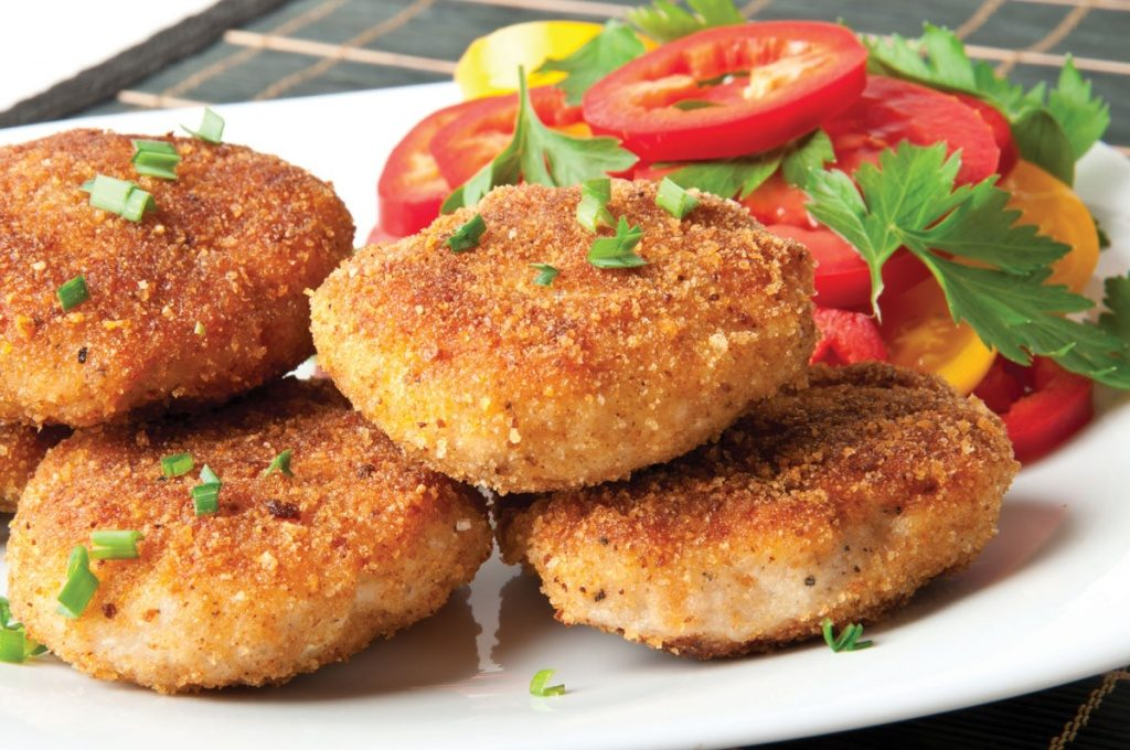 Very tasty fish cutlets