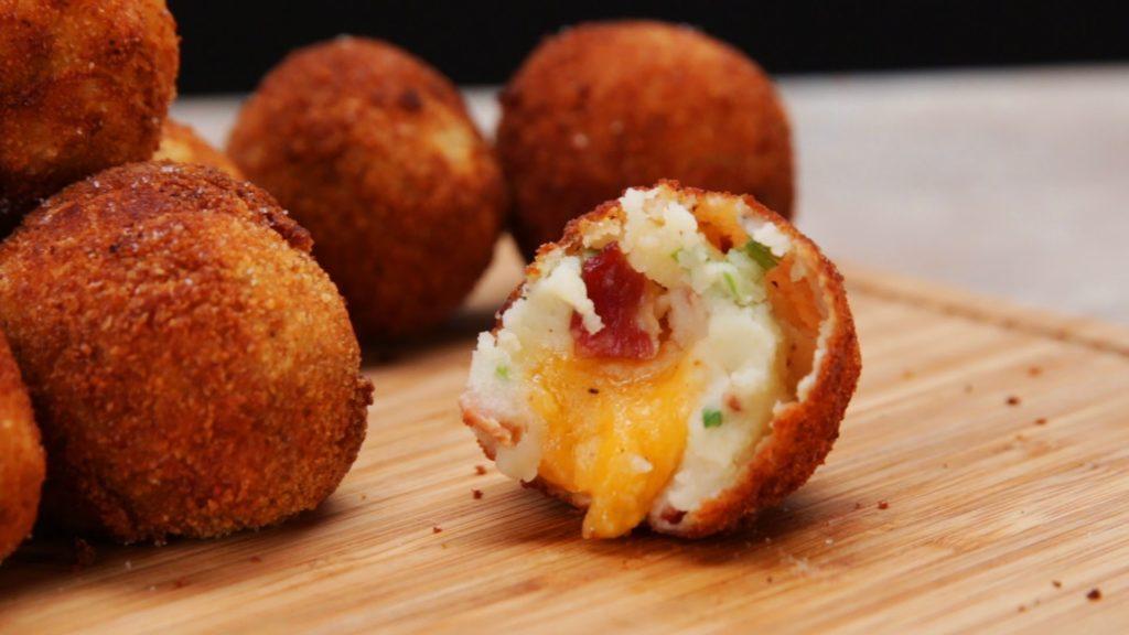 Very tasty potato balls
