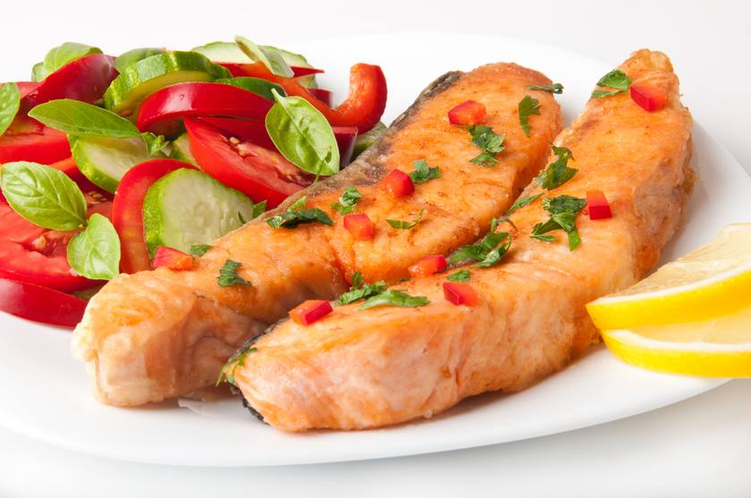 Tomato-Baked Fish fillets