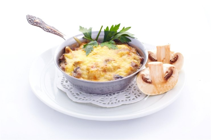 """Delicious classic """"Julien"""" with mushrooms"""