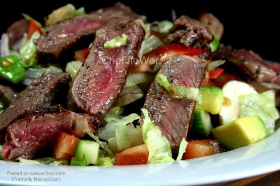 Warm Venison Salad