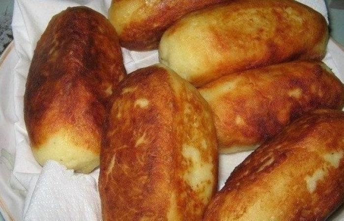 Sausage in potato