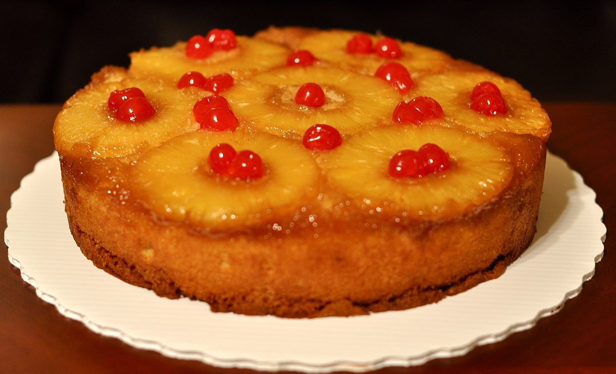 Pineapple Upside-Down Pudding