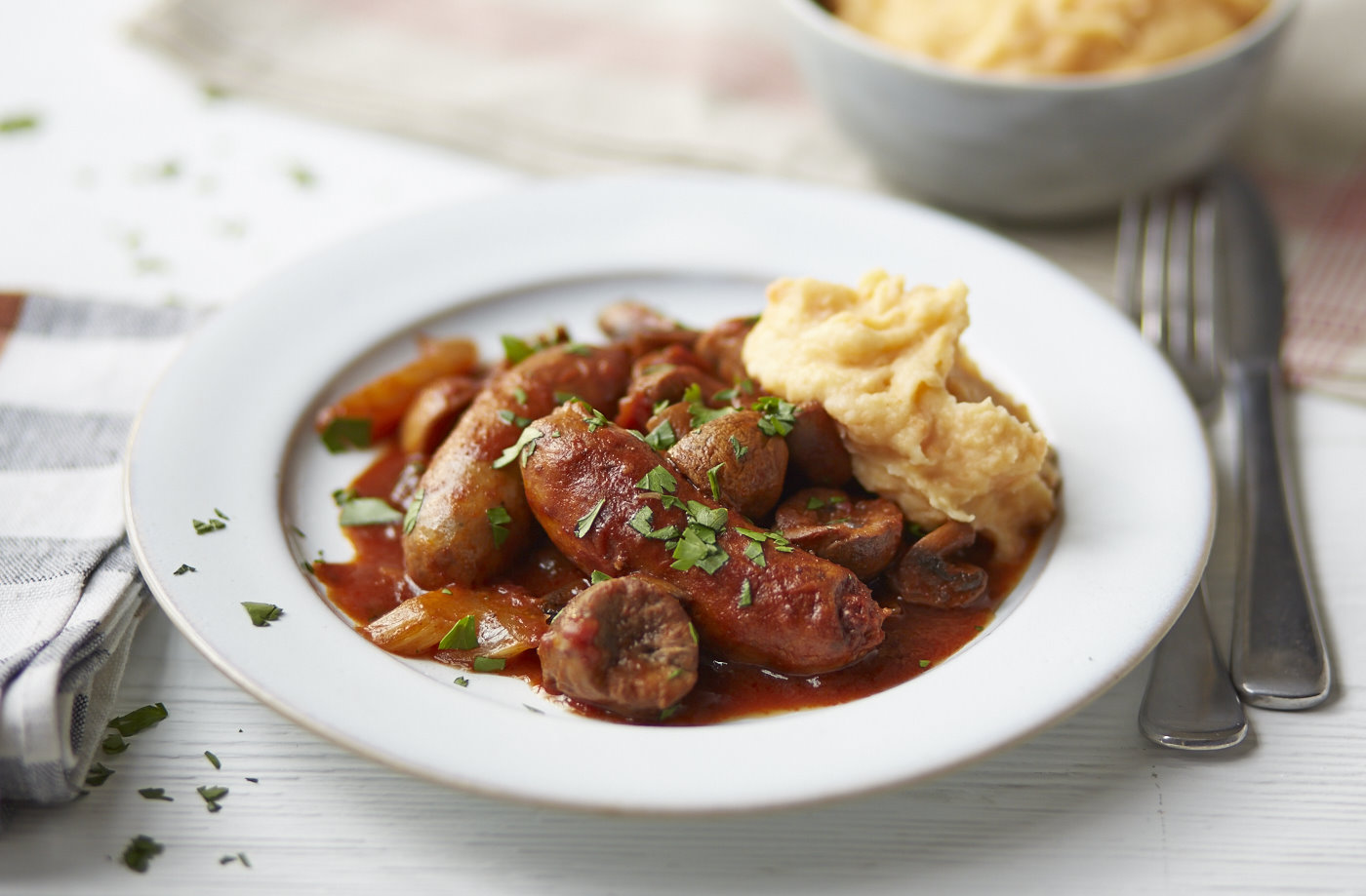 Kidney and Sausage Casserole