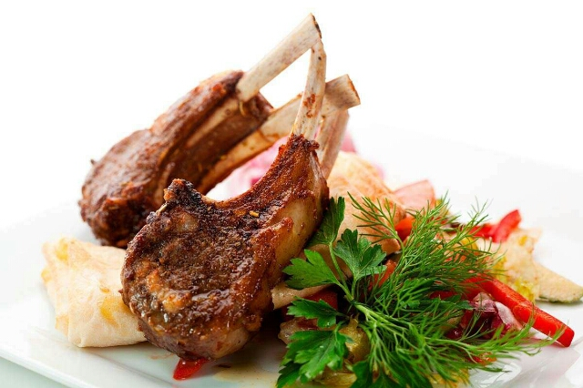 Delicious lamb dishes
