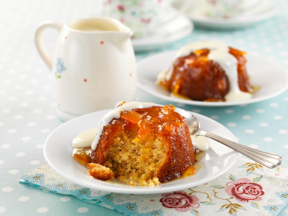 Marmalade Sponge Pudding