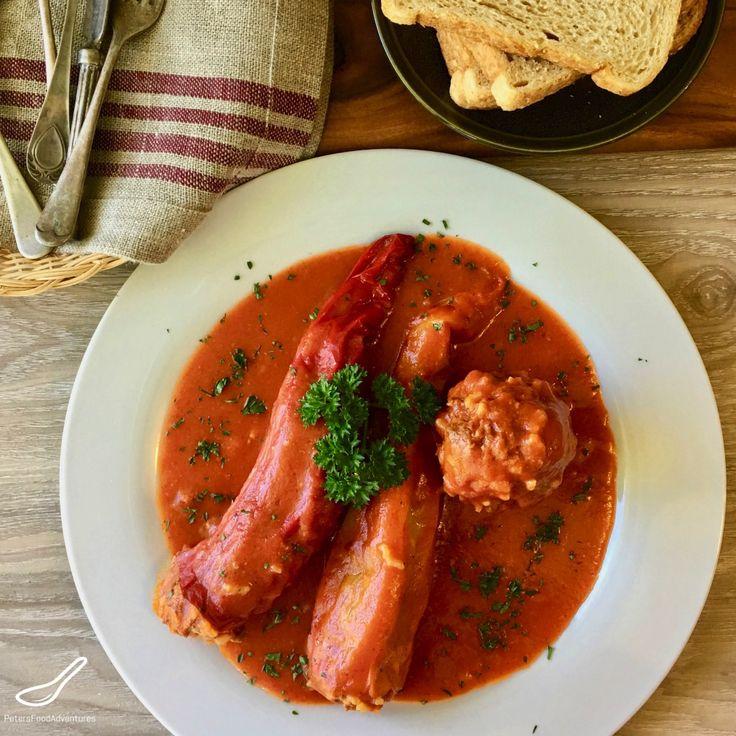 Original lasagna: in Bulgarian paprika