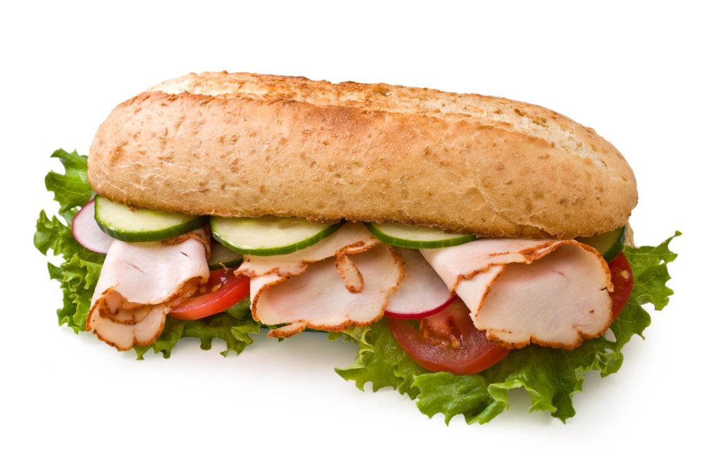 Sandwich meat is the most delicious in the world!