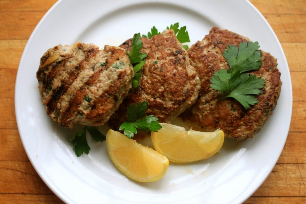 The most delicious cutlets from the liver