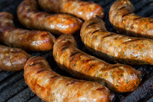 The most delicious homemade sausages