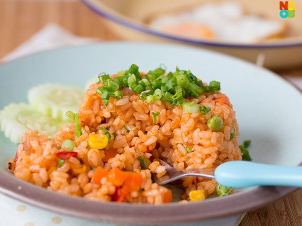 Tomato Rice Mould