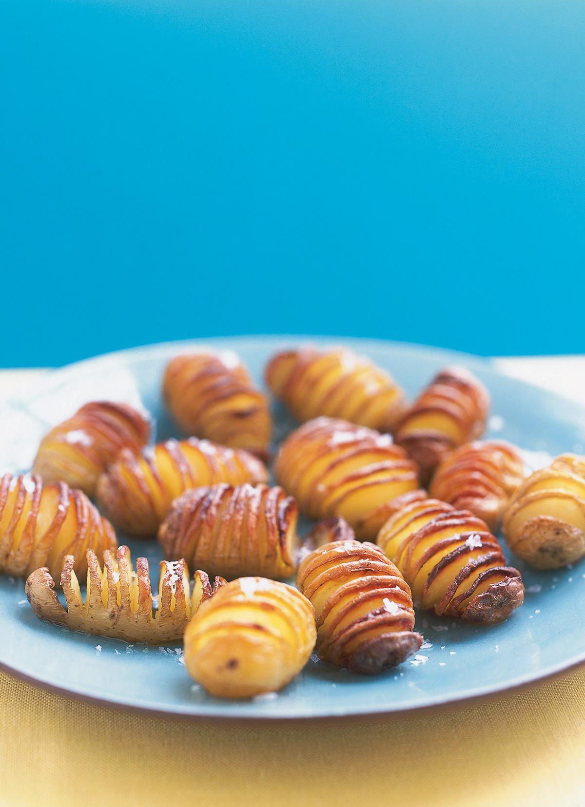 Fantail Potatoes