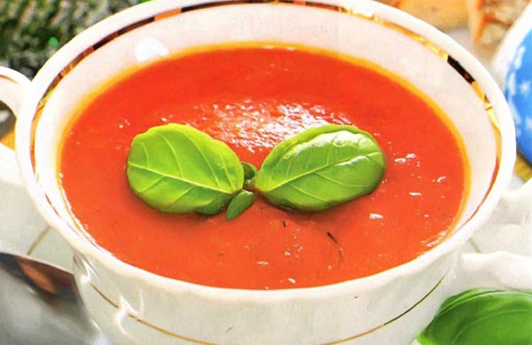 Excellent sweet pepper soup