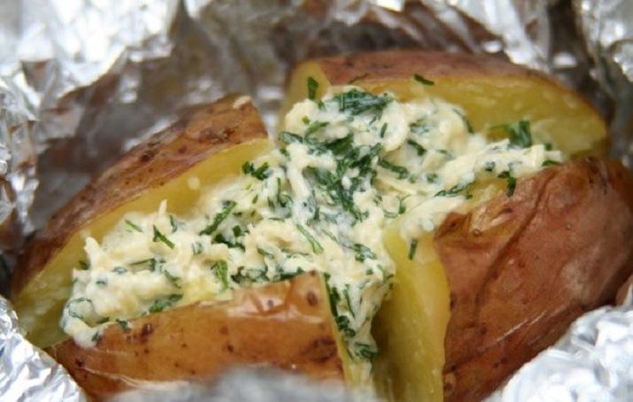 Awesome homemade potato crumbs