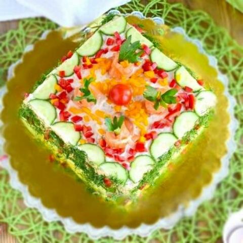 "Divine snack-cake ""Festive"""