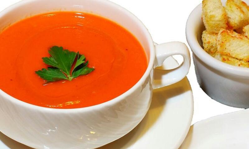 Stunning tomato soup