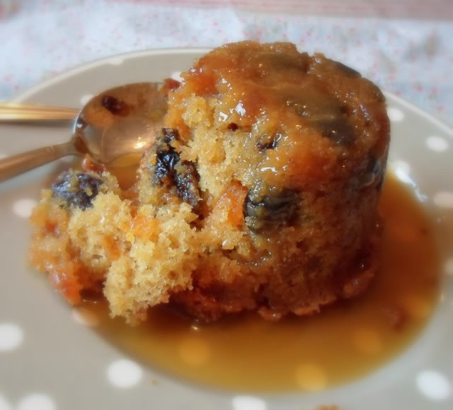 Prune and Apricot Pudding