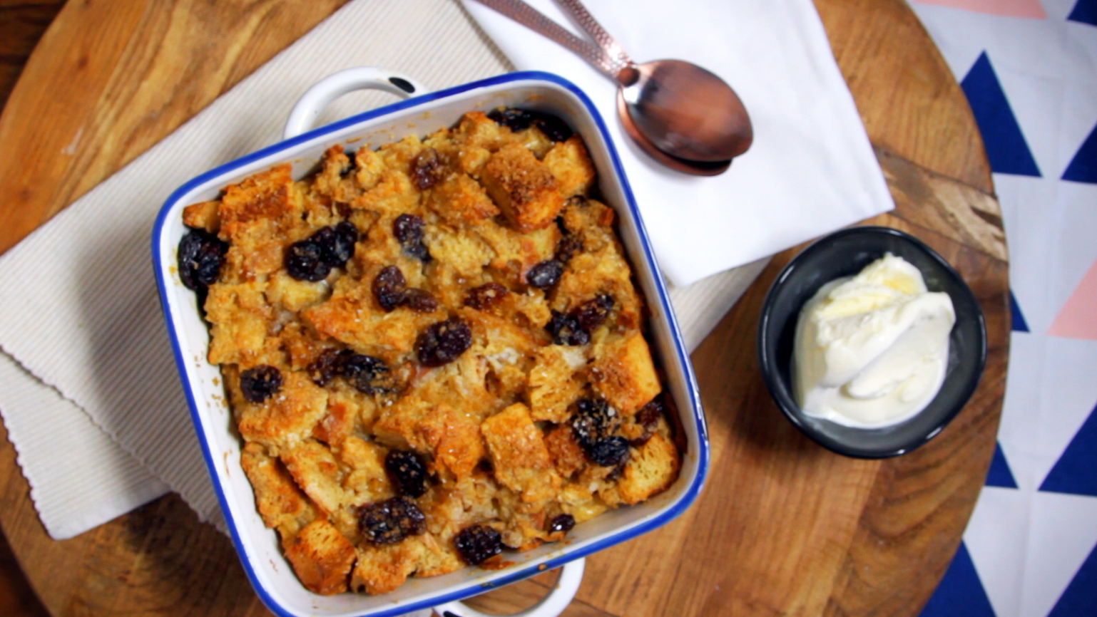 Spiced Bread and Butter Pudding