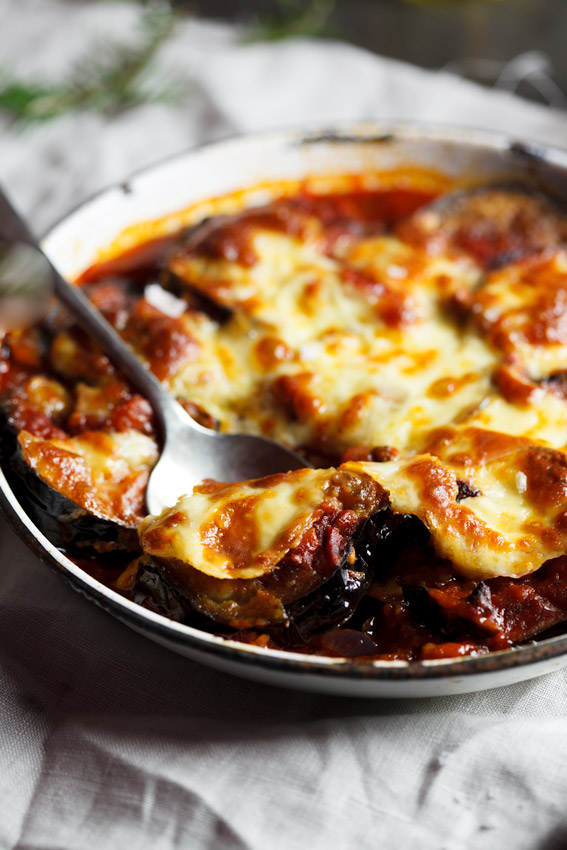Aubergine and Tomato Bake