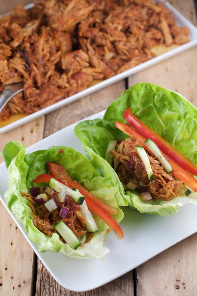 Nutritious Crock Pot Pulled Pork and Apples