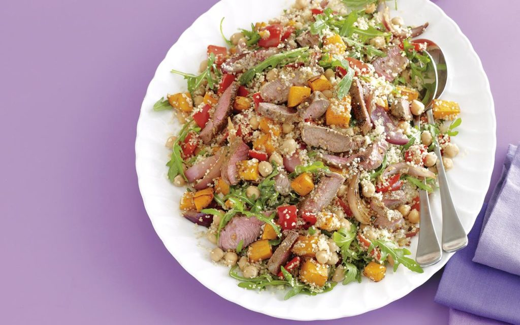 Lamb with couscous