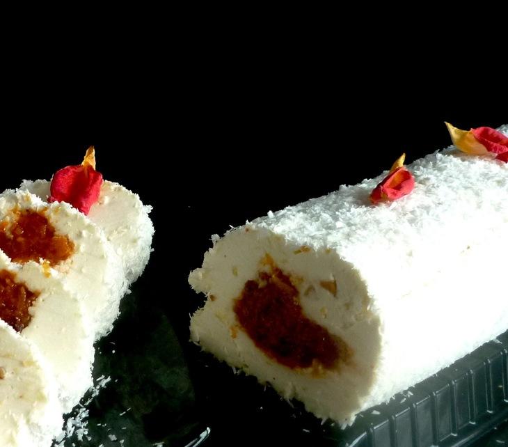 "Delicate melting dessert ""Beloshejka"""