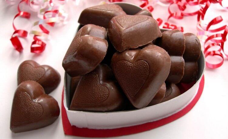 Delicious homemade chocolate