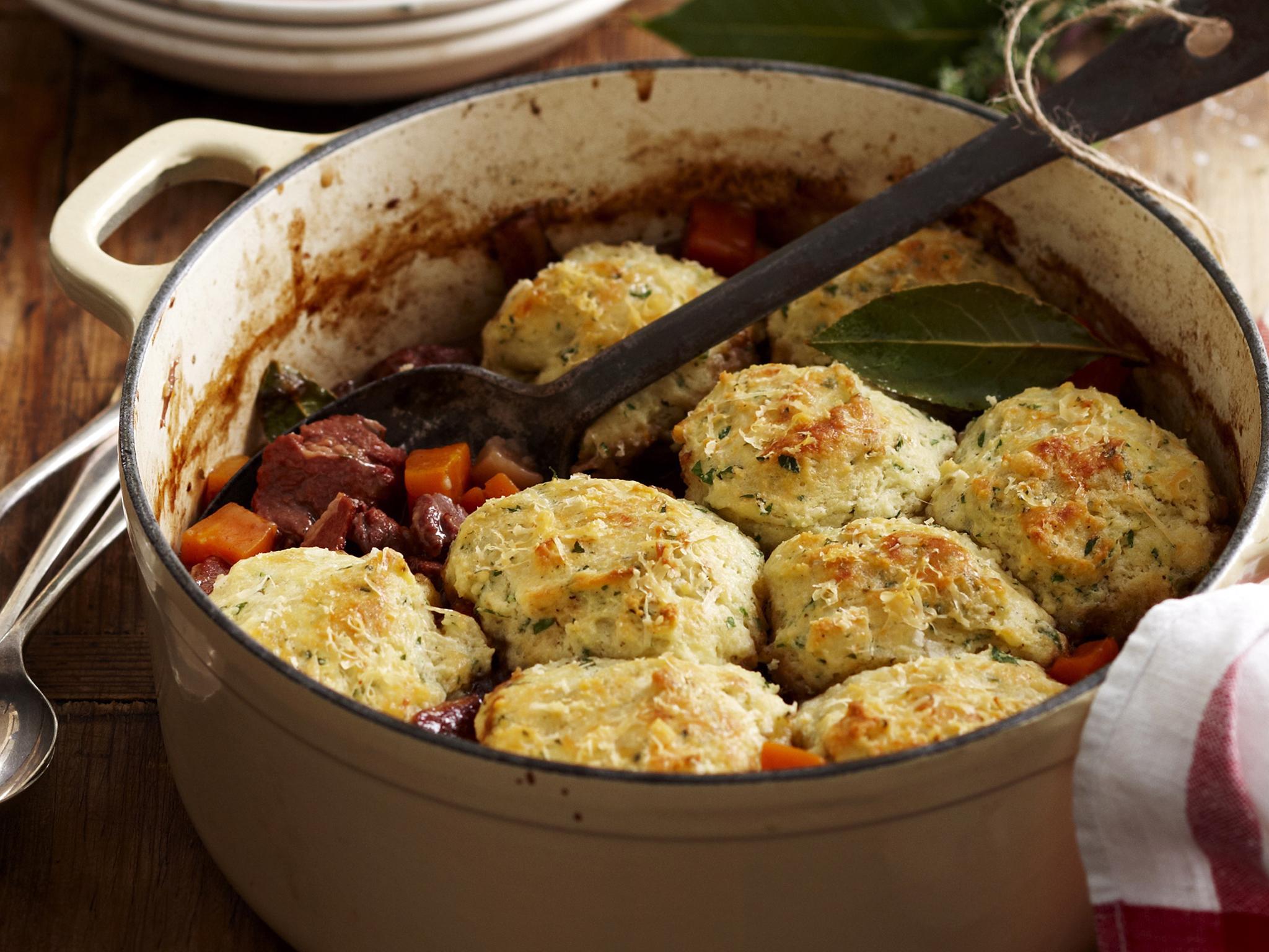 Beef Soup with Dumplings