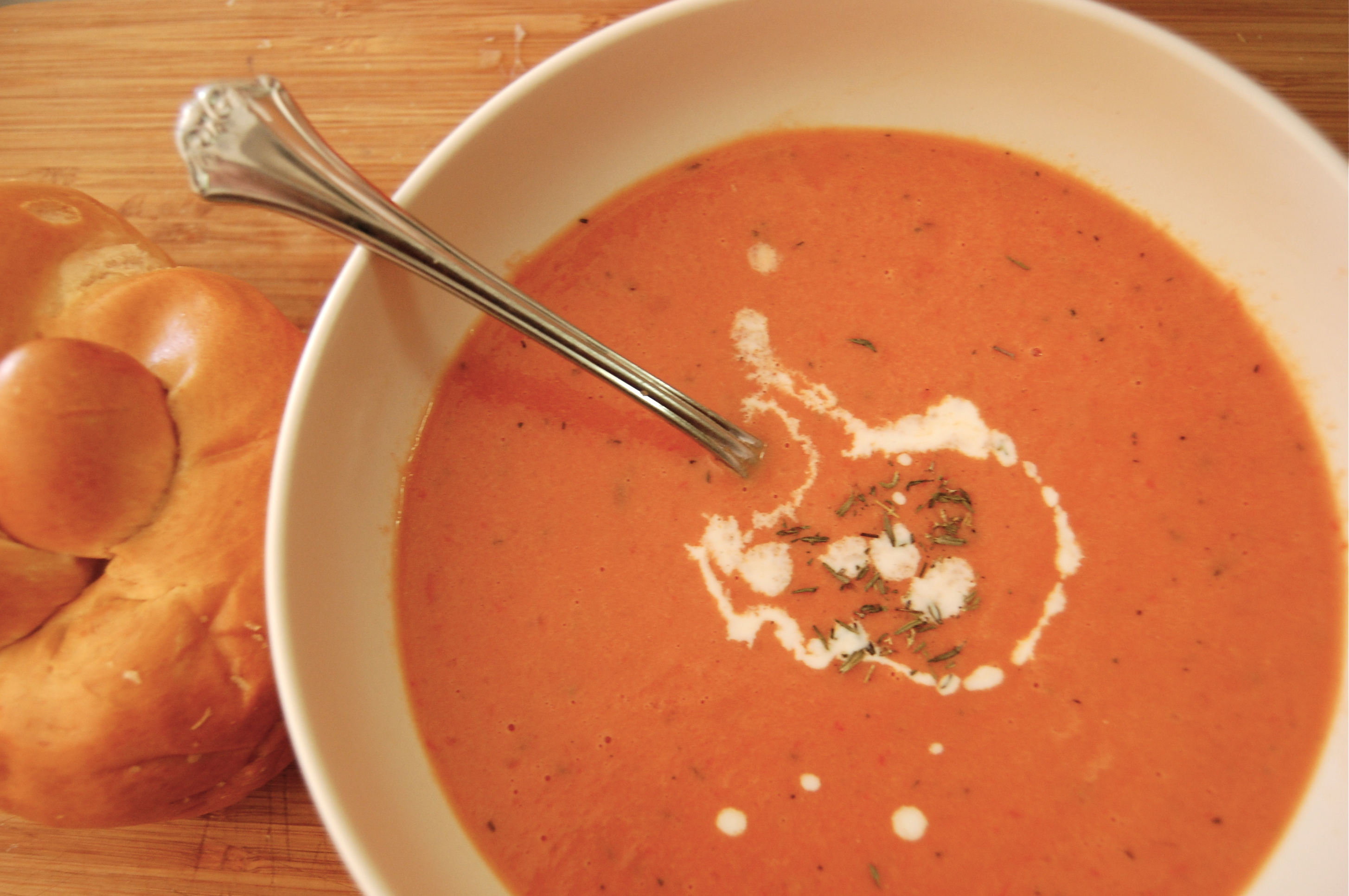 Tomato And Orange Soup