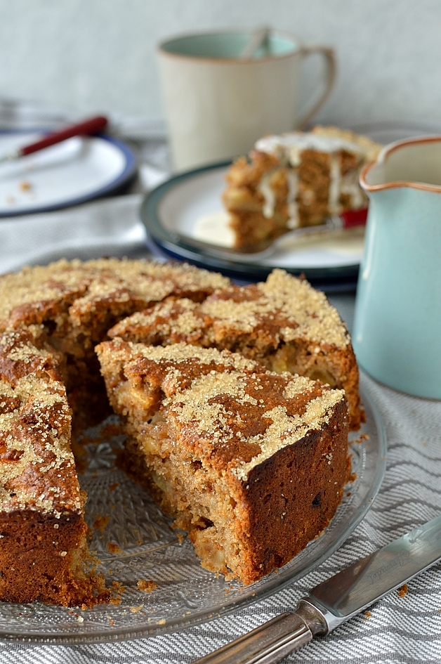 Wholemeal Apple Round