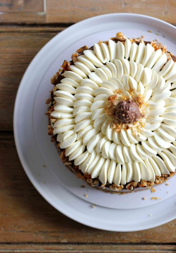 Coffee and Hazelnut Gateau