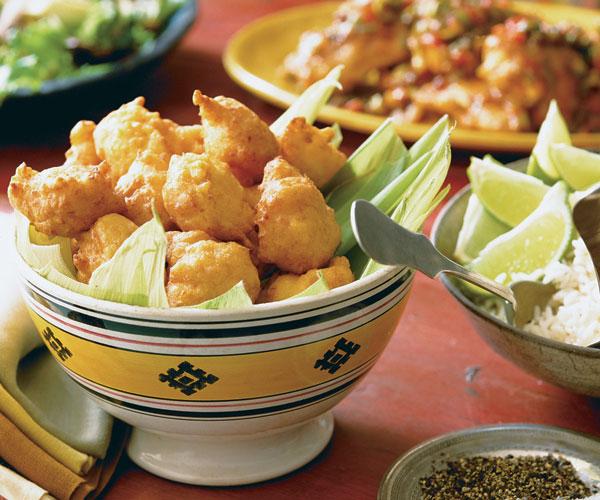 Buñuelitos de Maiz (Corn Fritters)