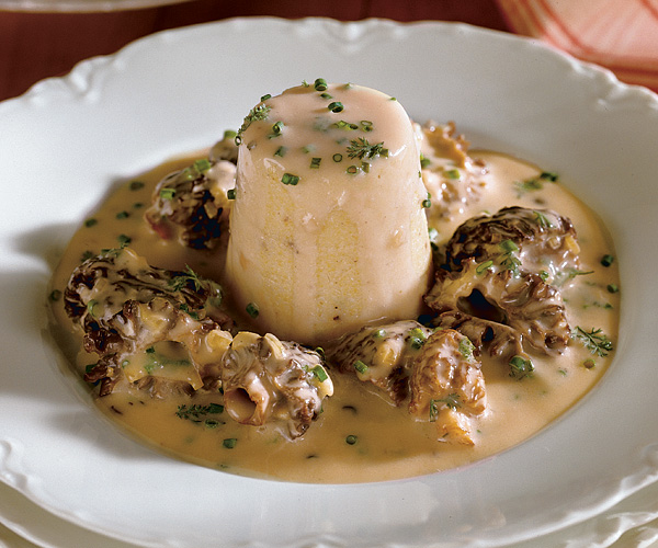 Morel Stew and Hasty Pudding