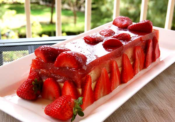 Fabulous strawberry dessert
