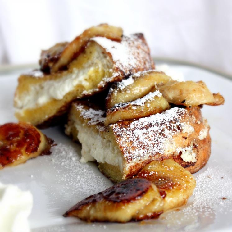 Ricotta Stuffed French Toast