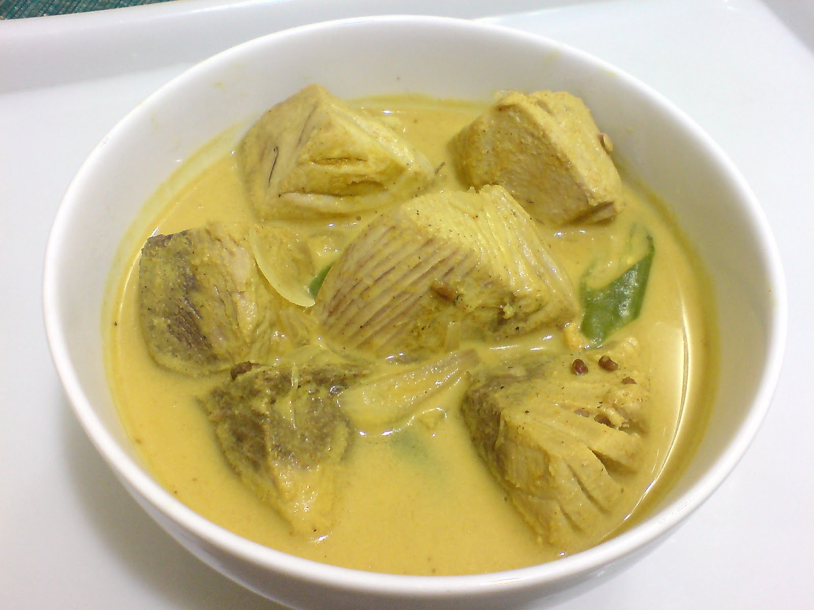 Curry from white fish for White fish recipe
