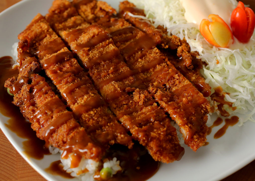 Cutlets in Asian style