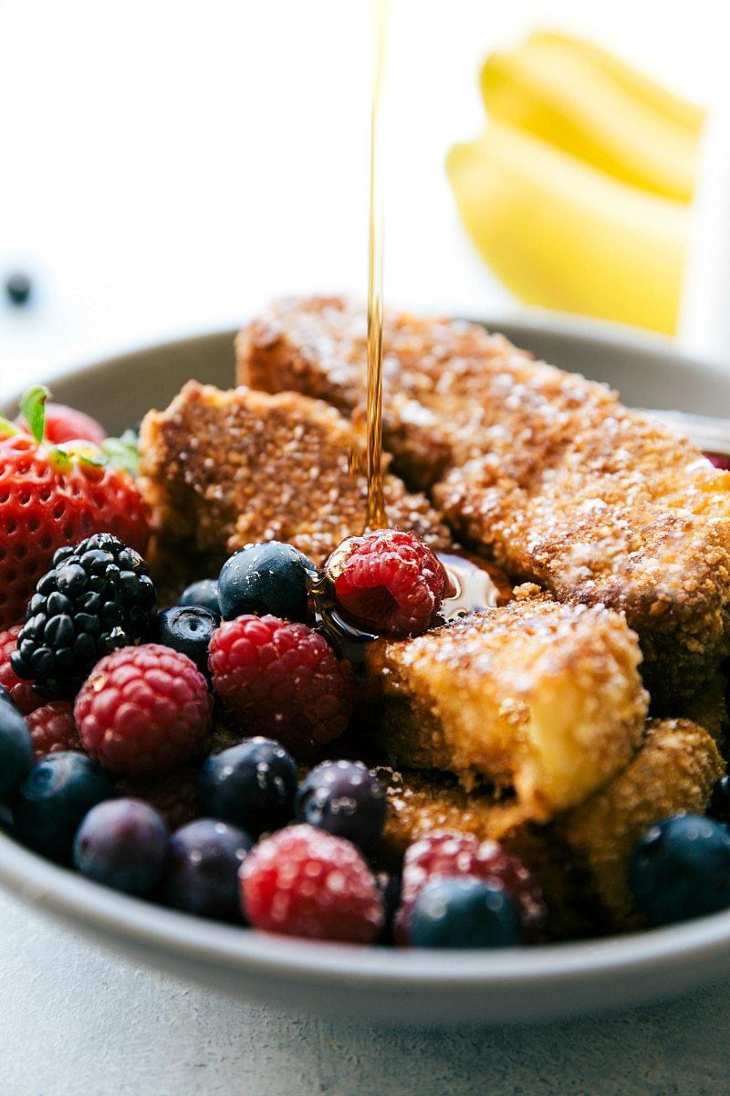 Cinnamon Cereal French Toast