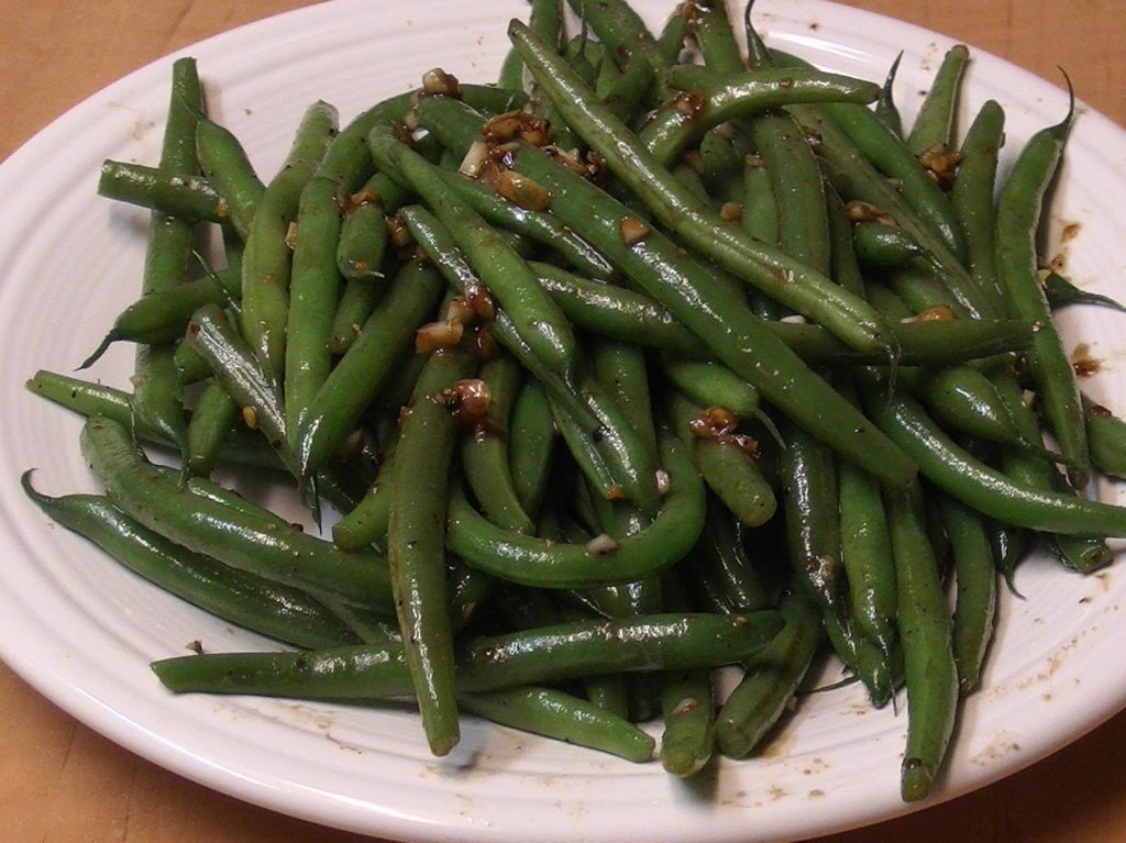 Green Beans in Chinese Style