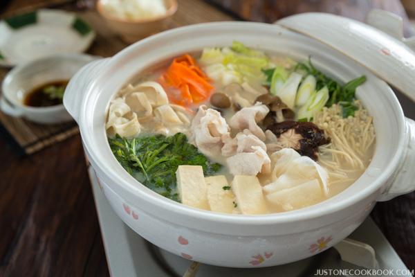 Japanese pot soup
