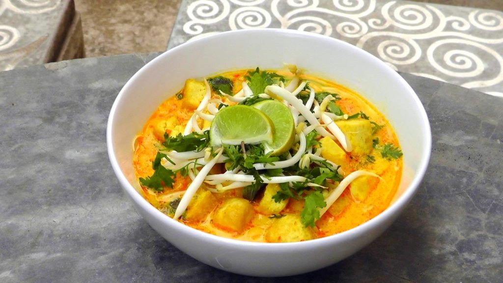 Soup in Malaysian style