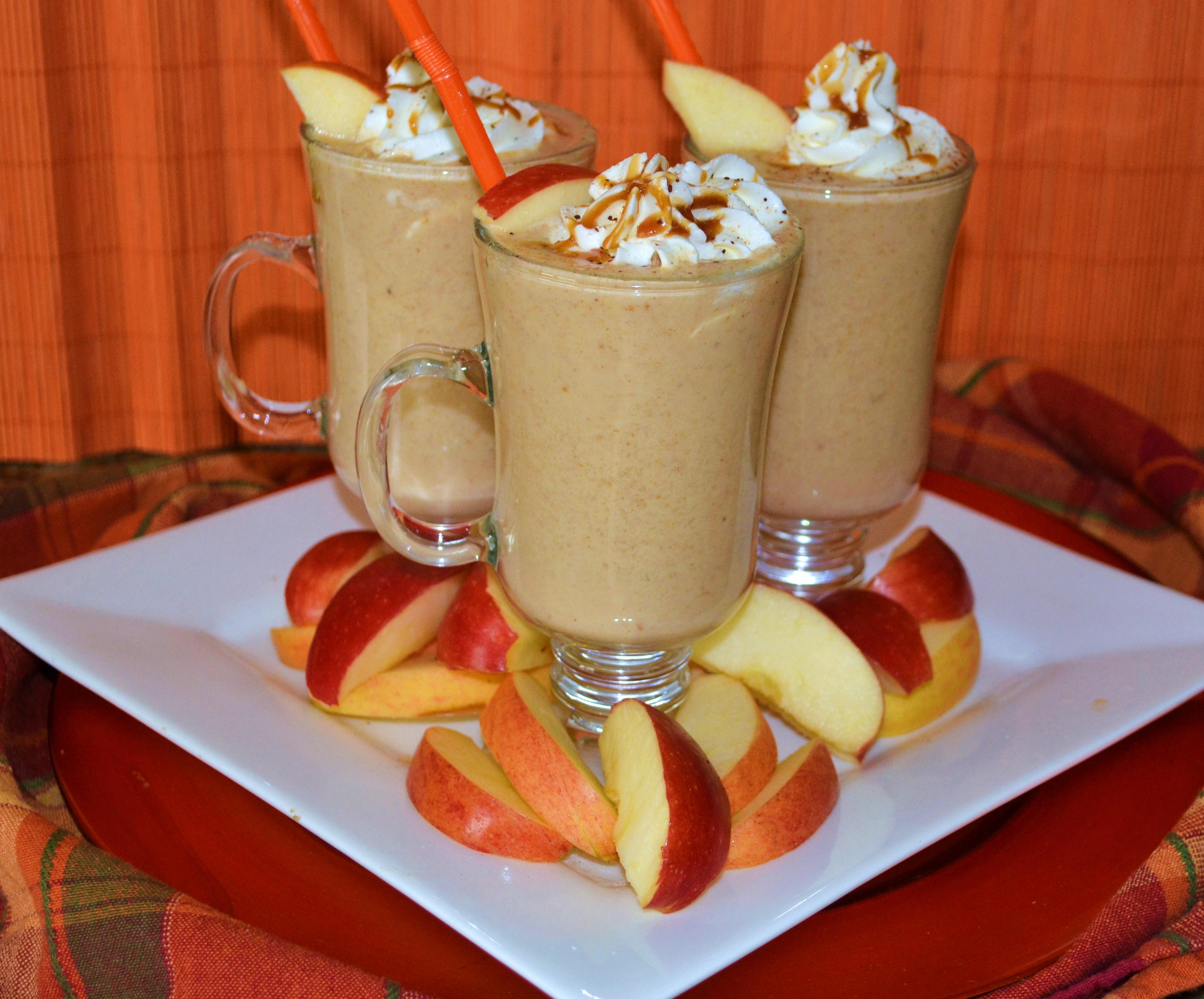 Apple Caramel Smoothie